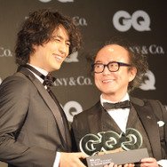 斎藤工/「GQ MEN OF THE YEAR 2017」