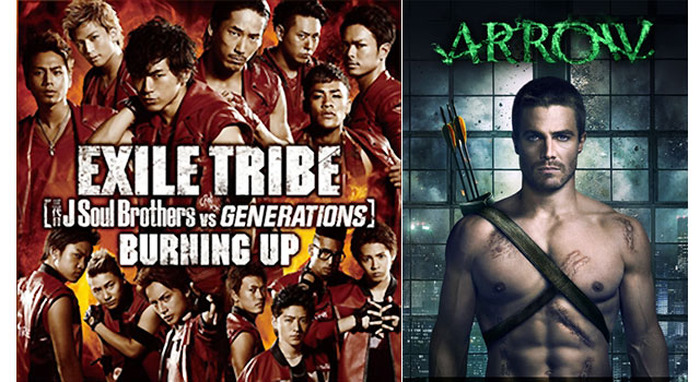 EXILE TRIBE「BURNING UP」&『ARROW/アロー』 -(c) 2013 Warner Bros. Entertainment