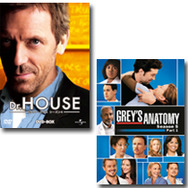 「Dr.HOUSE」 -(C) 2007/2008 Universal Studios. All Rights Reserved./「グレイズ・アナトミー」  -(C) ABC Studios.